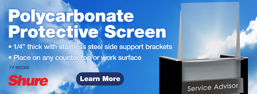 equip slider shure screen blk